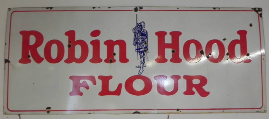 PORCELAIN ROBIN HOOD FLOUR 6 FT BY 30 INCHES