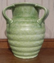 CROWN DUCAL ART POTTERY VASE CIRCA1930-1935