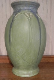 POTTERY VASE MADE IN ENGLAND 15/1/4 INCHES TALL