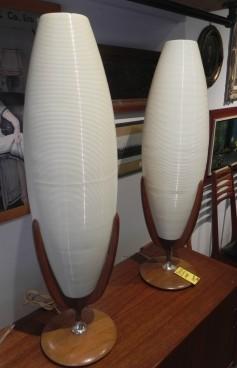 Atomic Teak Table Lamp SOLDs