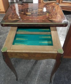 French Games Table